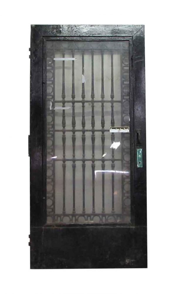 Black Iron Door