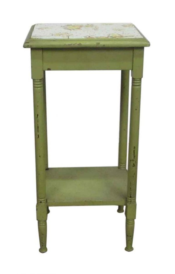 Turn of the Century Simple Farm Table Night Stand