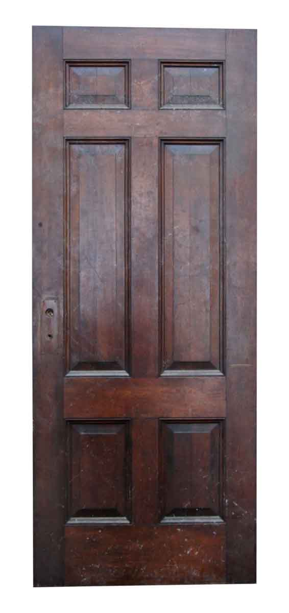 Six Recessed Paneled Door