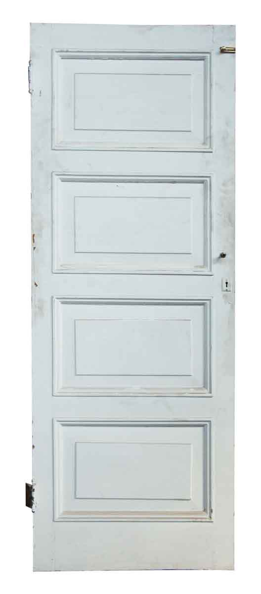 White Olde Four Paneled Door