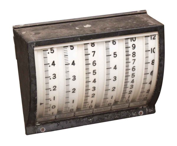 Electrical Meter with Glass Face