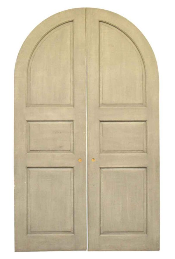 Pair of Rounded Doors