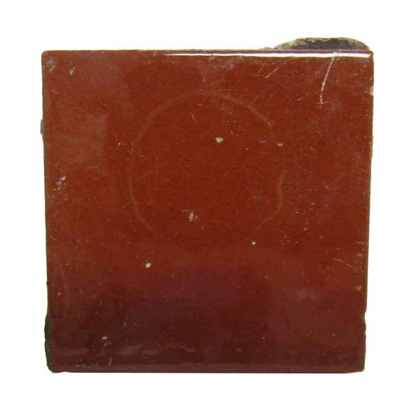 Light Reddish Brown Square Tile