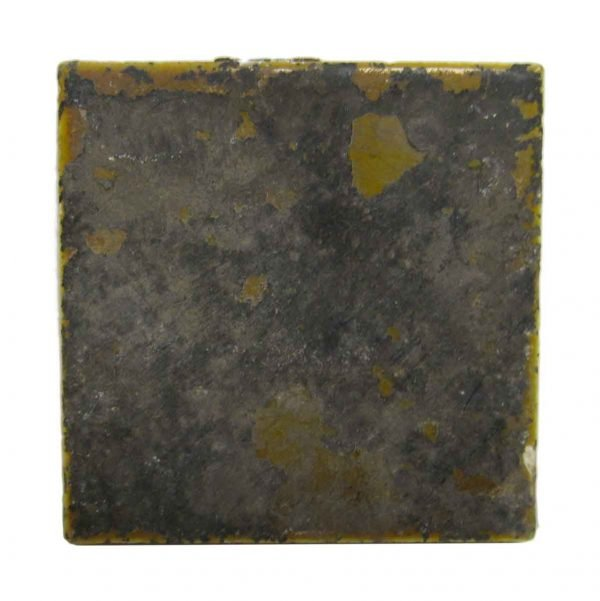 Painted Olive Square Tile Set