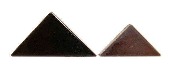 Brown Mix Triangle Tile Set