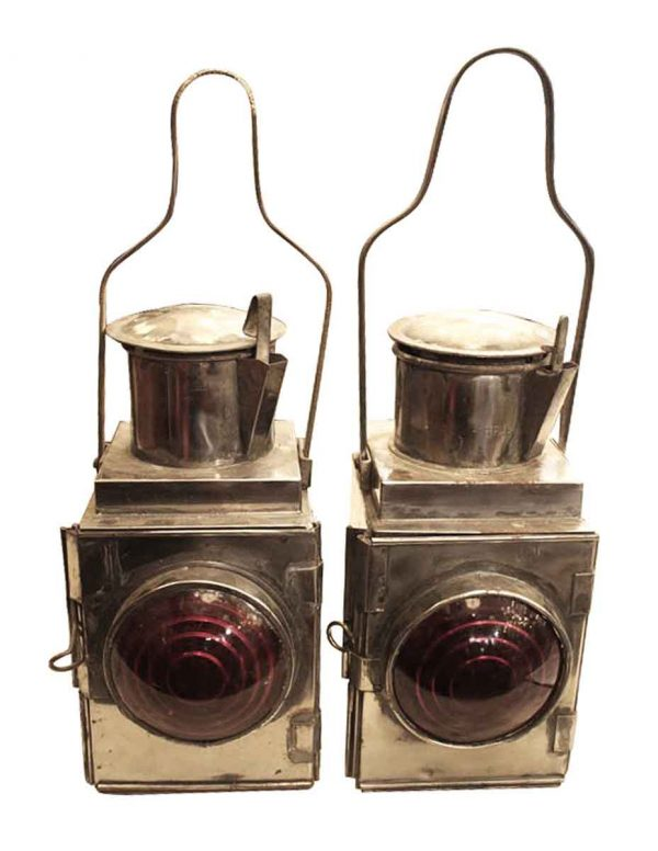 Pair of Carriage or Train Lights