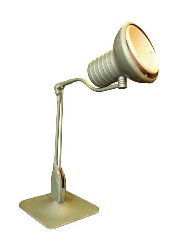 Adjustable Metal Mint Green Desk Lamp