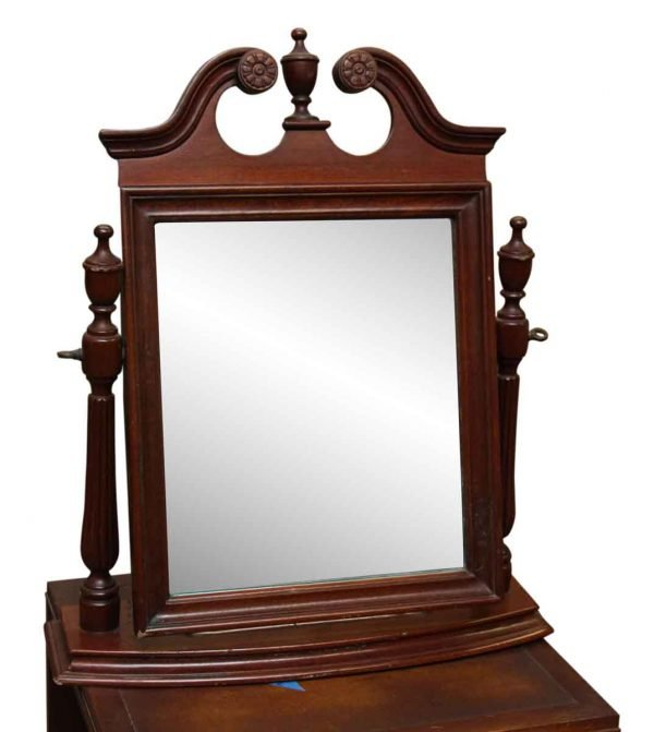 Small Table Top Cheval Shaving Mirror