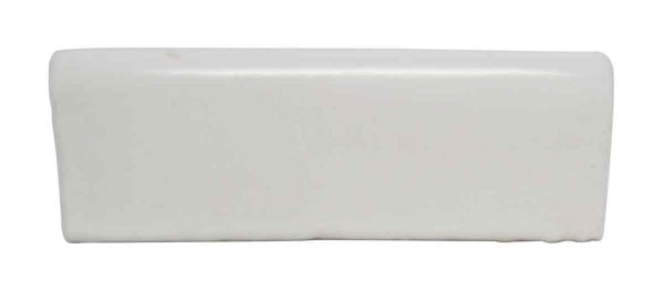 White Top Curved Cap Tiles