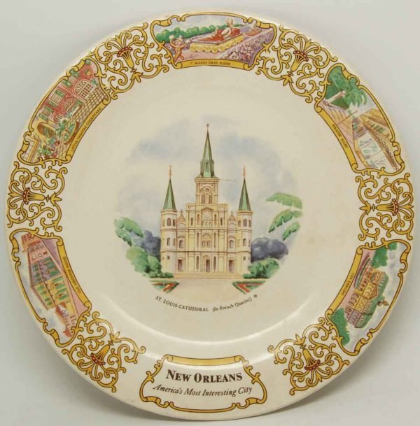 New Orleans Collectors Plate