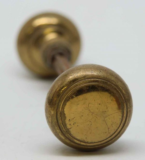 Small Concentric Circle Brass Knob Sets