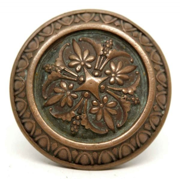 Bronze Floral Russell & Erwin Knob