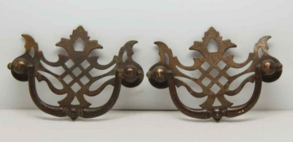 Pair of Cut Out Drawer Pulls