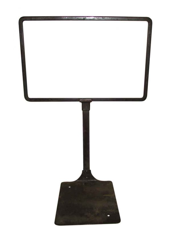 Table Top Metal Sign Holders