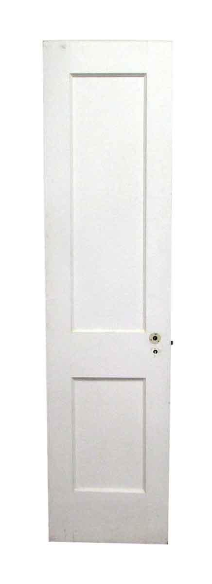 Two Panel Narrow Wooden Door