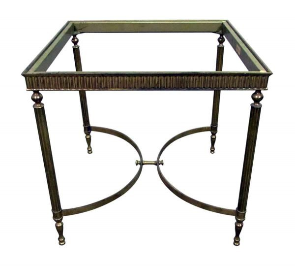 Brass Italian Side Table Base