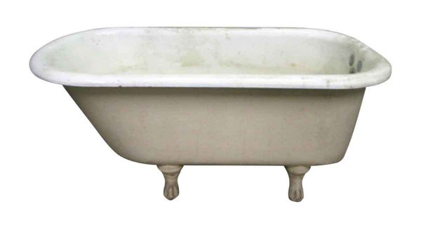 Claw Foot Porcelain Tub Just Overr Four Foot