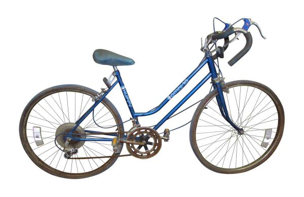 Blue 10 Speed Vintage Bicycle