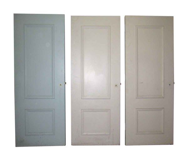 Two Panel Doors with Raised Molding