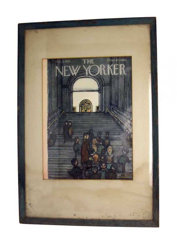 the New Yorker Cover Framed Print