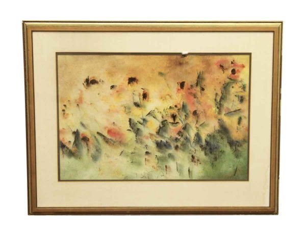 Schlect Water Color Painting on Rice Paper