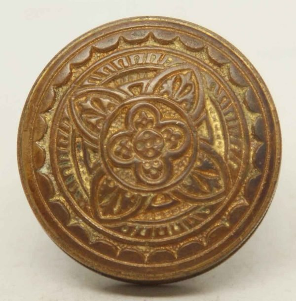 Collectors Quality Single Ornate Four Fold Knob