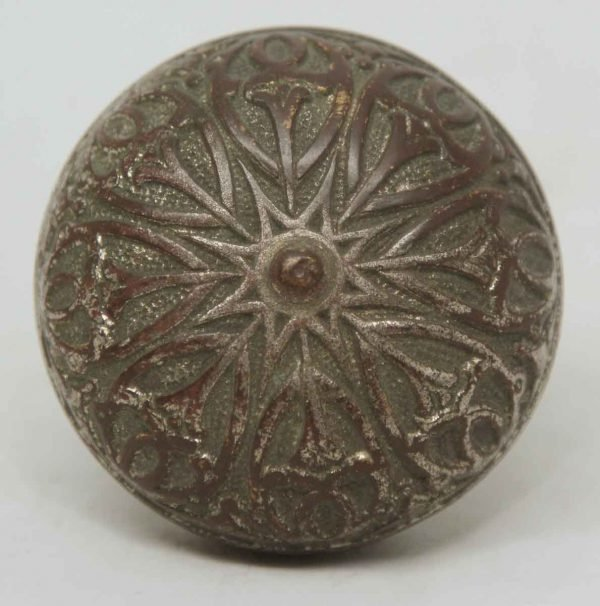 Decorative Single Bronze Knob