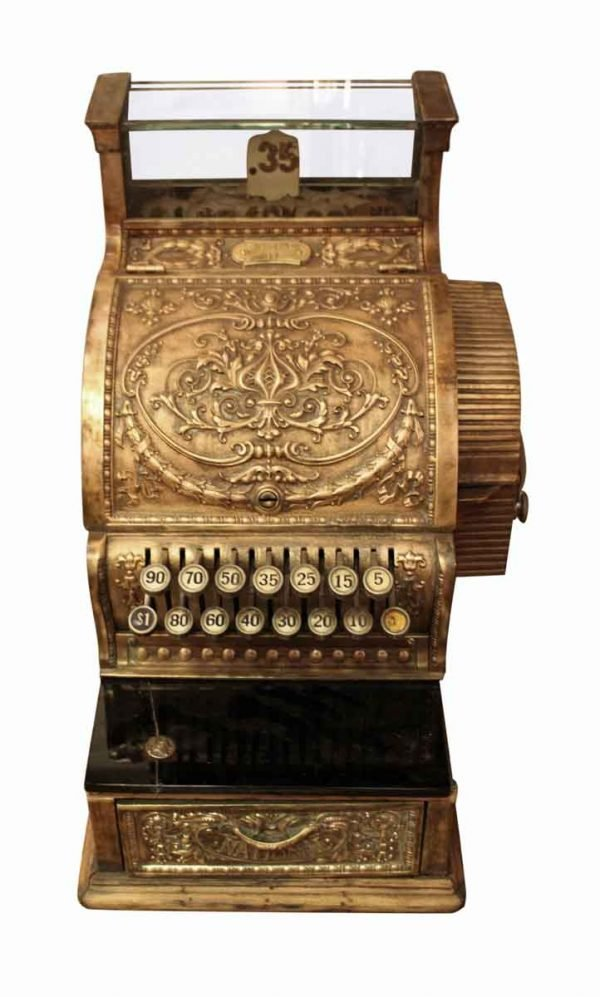 Olde Bronze Cash Register