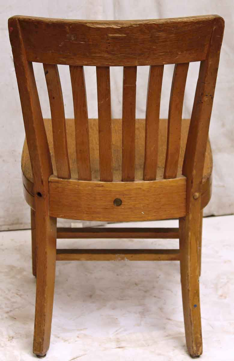 Sikes Solid Wood Office Chair Olde Good Things