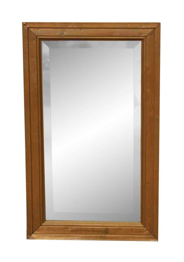 Copper Mirror with Beveled Glass