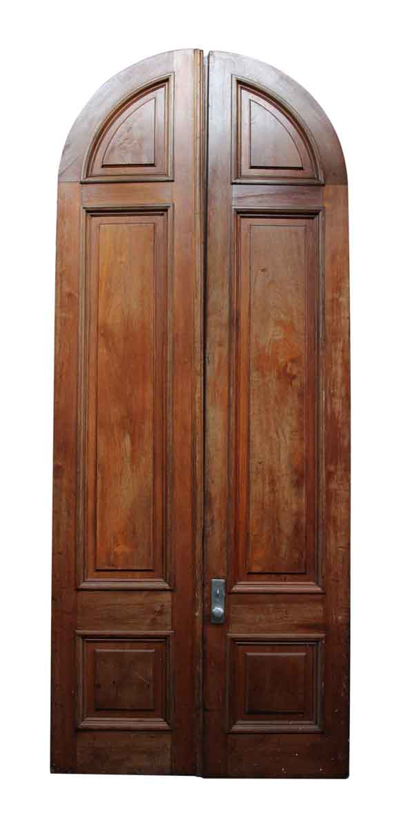 Pair of Large Arched Doors