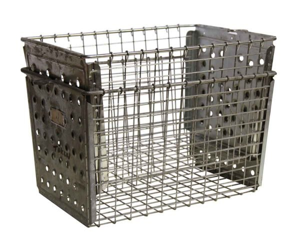 Stackable Metal Locker Basket