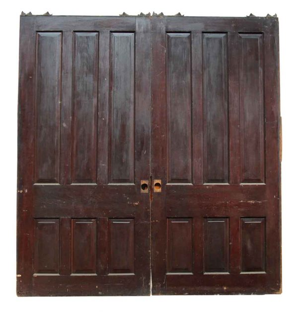 Pair of Large Double Pocket Doors