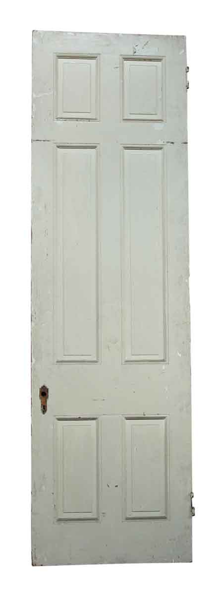 Single White & Tan Door