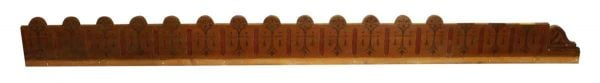 Decorative Molding Pine with Stenciled Paint