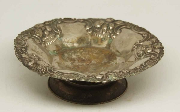 Silver Plated Ornate Dish