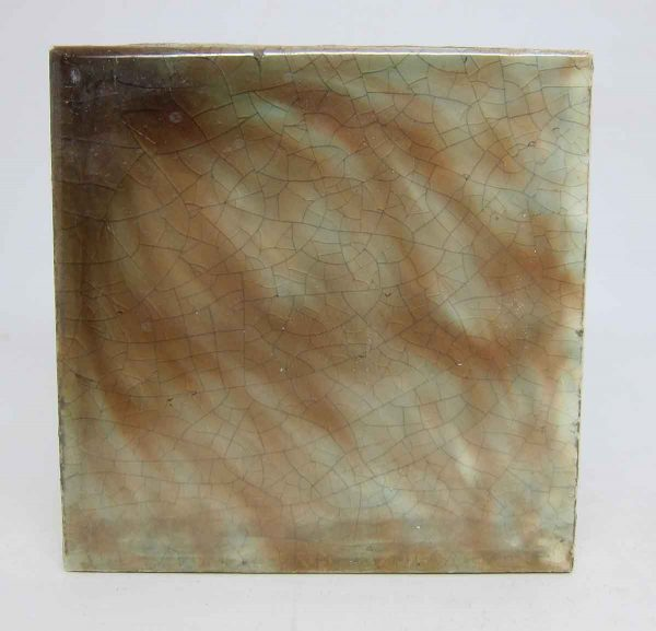 Brown & Blue Square Tile