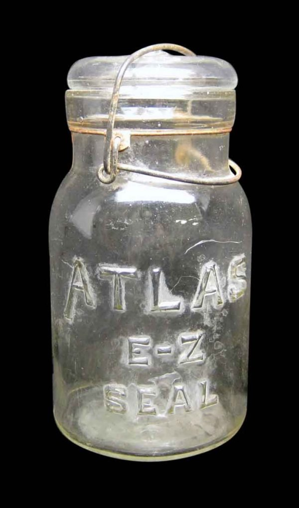 Single Atlas E-Z Seal Glass Jar