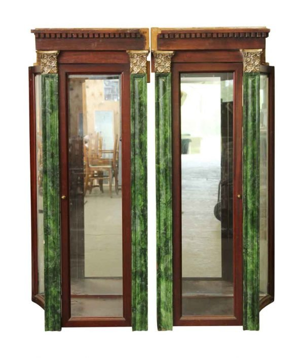 Connecting Display Cabinet Set