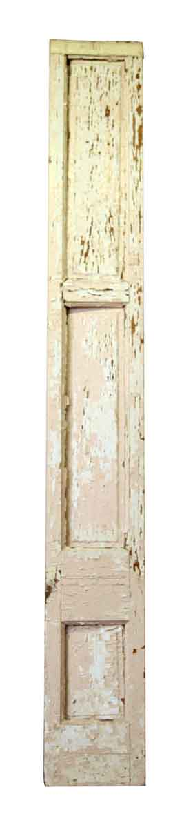 Pair of Distressed Wood Panels