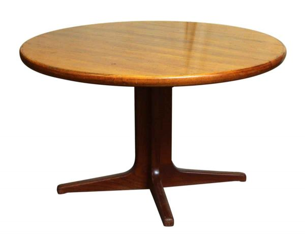 Mid Century Dining Table on Pedestal Base