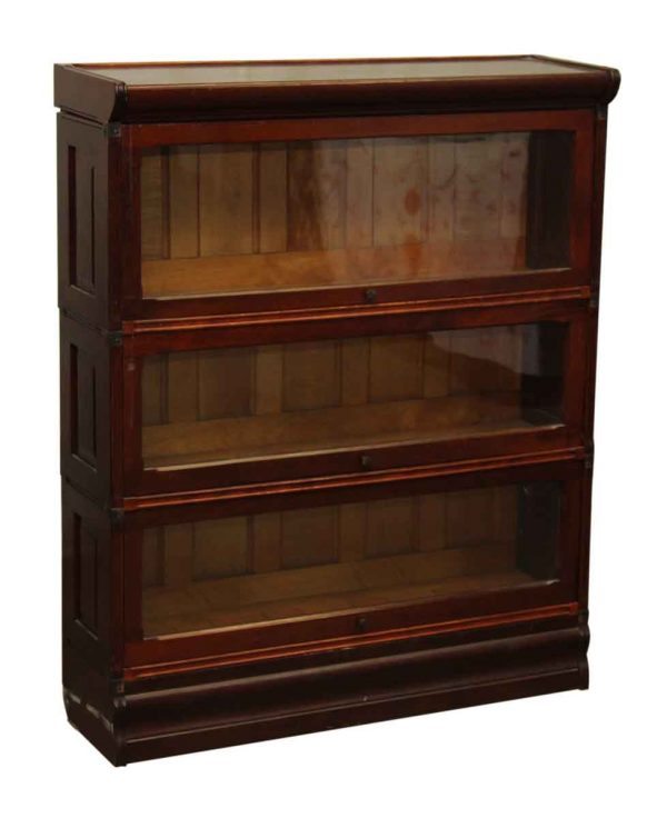 Antique Bookcase with Beadboard Backing