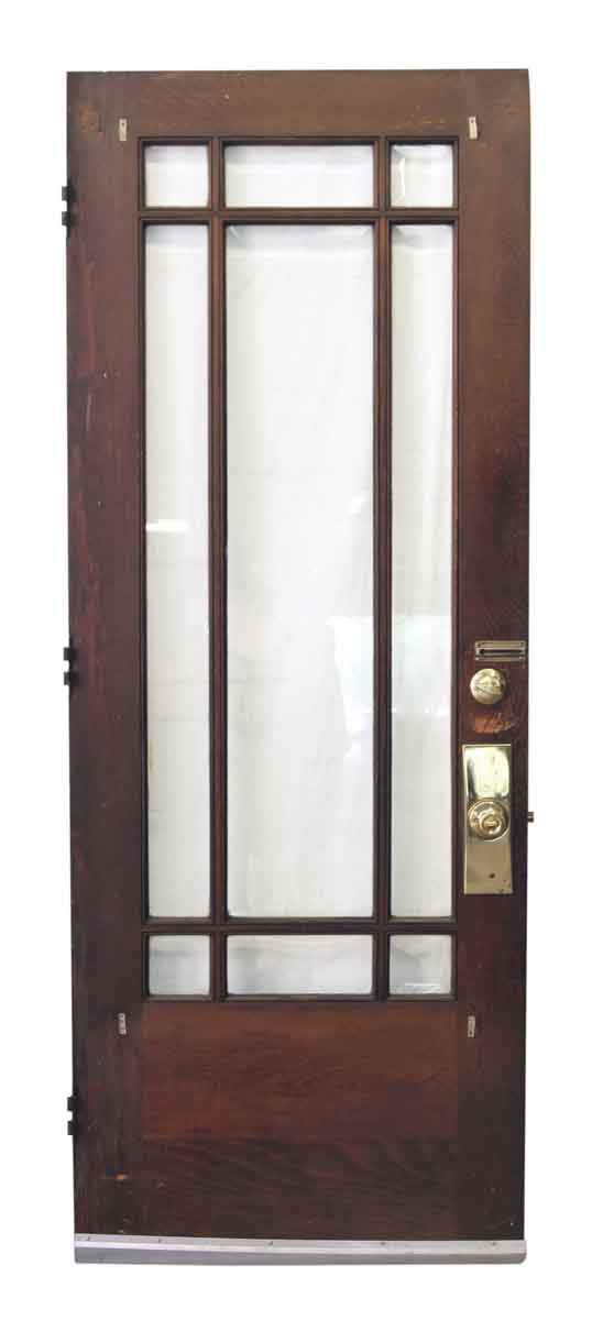 Arts & Crafts Style Entry Doors with Glass Panels