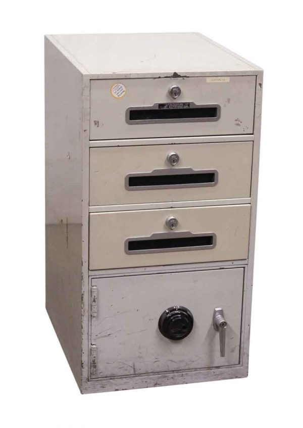 Fire Proof Metal Cabinet with Safe