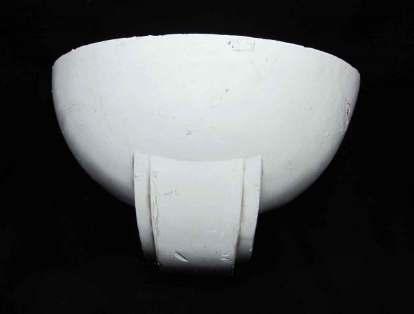 Art Deco Geometric Plaster Wall Sconce