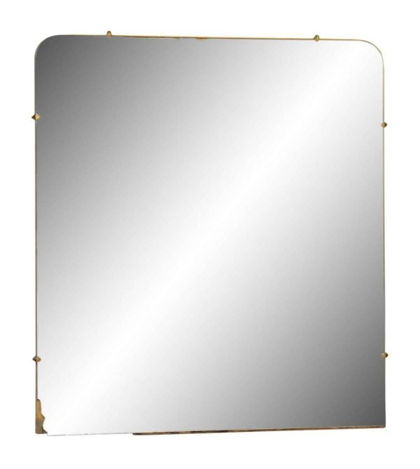 Round Square Wall Mirror