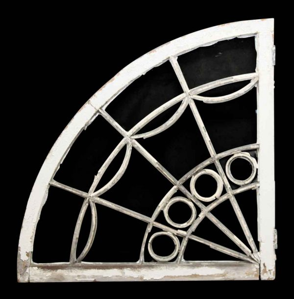 Reclaimed Fan Shaped Window