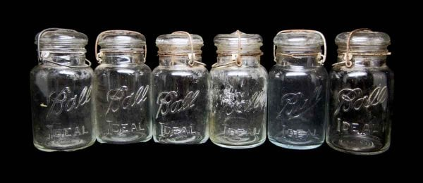 Set of Ball Ideal Canning Jars