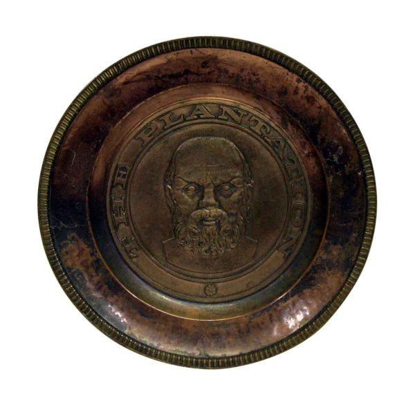 the Plantation Figural Copper Plate