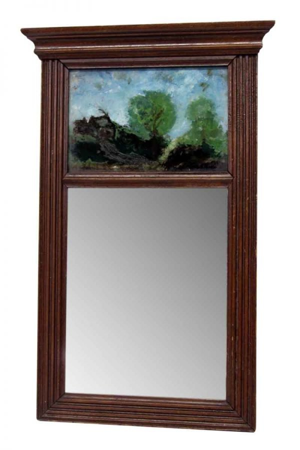 Scenic Abstract Painting Mirror